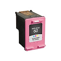 Clover Remanufactured Ink for HP 60 (CC643WN), Tri-Color, 165 page yield