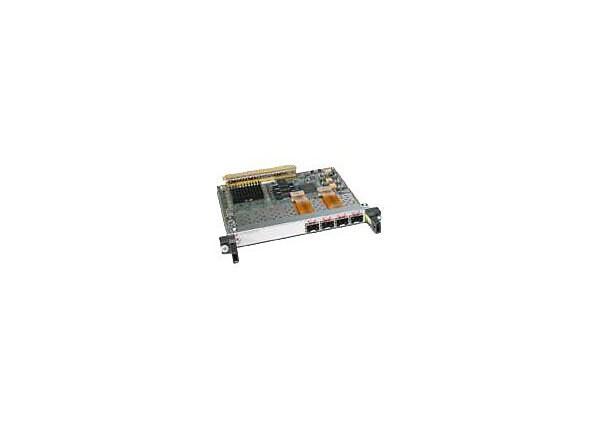 Cisco 4-Port OC-3c/STM-1 POS Shared Port Adapter - expansion module