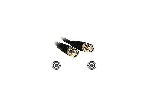 C2G 25ft 75 Ohm BNC Cable - video cable - 7.6 m