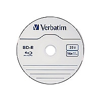 Verbatim - BD-R x 10 - 25 GB - storage media