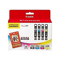 Canon CLI-226 4 Color Combo Pack - 4-pack - black, yellow, cyan, magenta -
