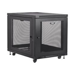 Tripp Lite 12U Rack Enclosure Server Cabinet Doors & Sides 1000lb Capacity