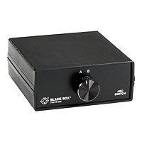 Black Box Lifetime ABC DB25 Switch - switch - 2 ports