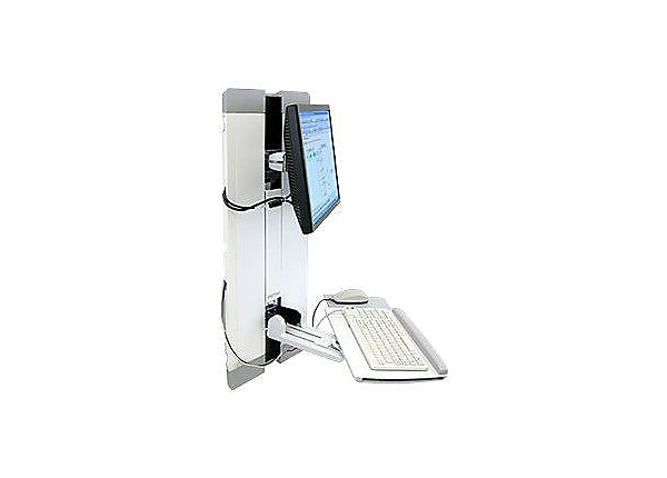 Ergotron StyleView Vertical Lift, Patient Room - mounting kit
