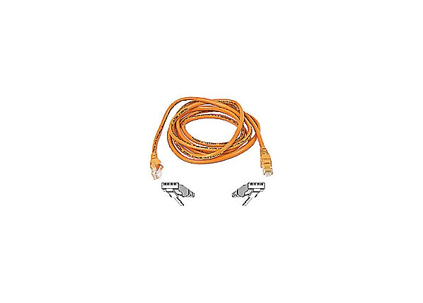 Belkin 7' CAT5e crossover patch cable, orange