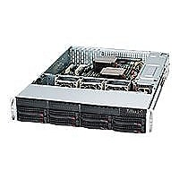 Supermicro SC825 TQ-563LPB - rack-mountable - 2U - extended ATX