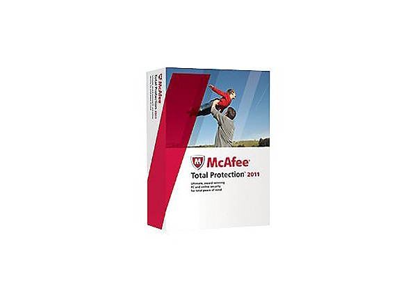 McAfee Total Protection 2011 - box pack (1 year) - 1 PC