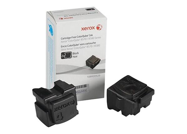 Xerox ColorQube 8580 - 2-pack - black - solid inks