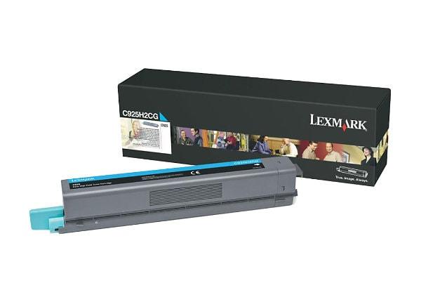 Lexmark - High Yield - cyan - original - toner cartridge - LCCP