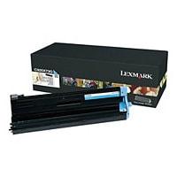 Lexmark - cyan - original - printer imaging unit - LCCP