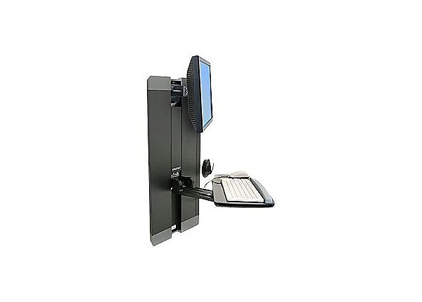 Ergotron StyleView Vertical Lift, Patient Room - wall mount