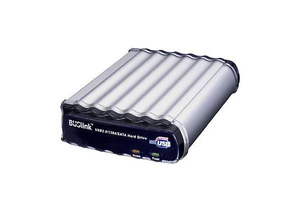 BUSlink Triple Combo CO-2T-U2FS - hard drive - 2 TB - FireWire / USB 2.0 /