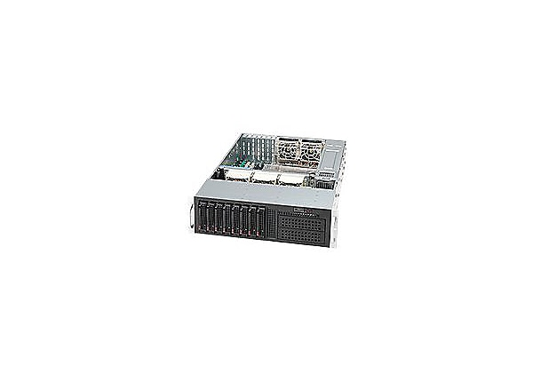 Supermicro SC835 TQ-R920B - rack-mountable - 3U - enhanced extended ATX