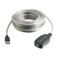 C2G USB 2.0 A Male to A Female Active Extension Cable - USB cable - 39 ft