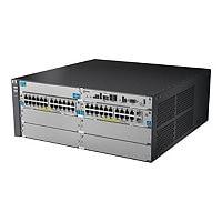 HPE 5406-44G-PoE+-2XG v2 zl Switch - switch - 44 ports - managed - rack-mou