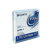 Sony LTX-400G - LTO Ultrium 3 x 20 - 400 GB - storage media