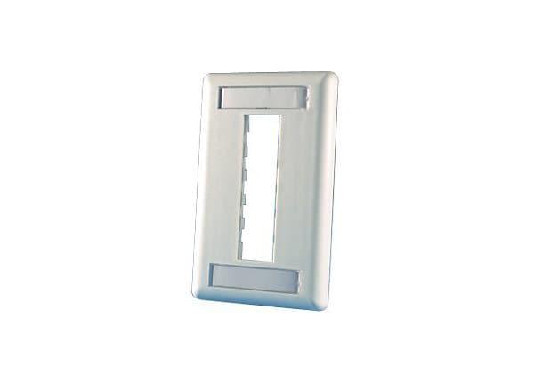 Ortronics TracJack wall mount plate