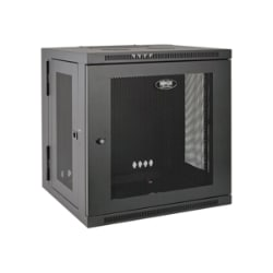 Tripp Lite 10U Wall Mount Server Rack Enclosure Cabinet Hinged Wallmount