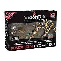 VisionTek Radeon HD 4350 - carte graphique - Radeon HD 4350 - 512 Mo