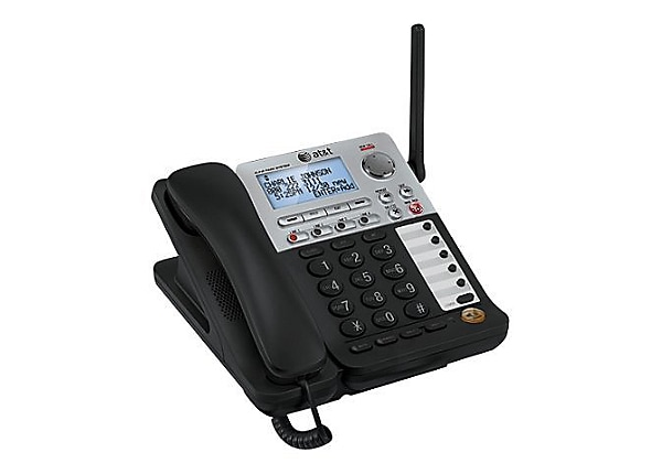 At T Synj Sb67148 Cordless Phone Answering System With Caller Id Call W Sb67148 Phones Cdw Com