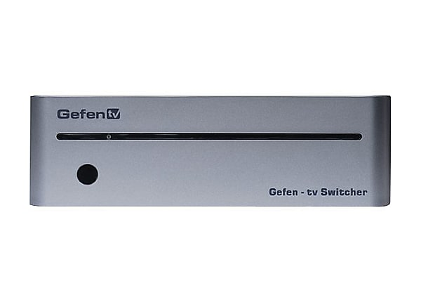 GefenTV 4x1 Switcher for HDMI with RS232 - video/audio switch - 4 ports