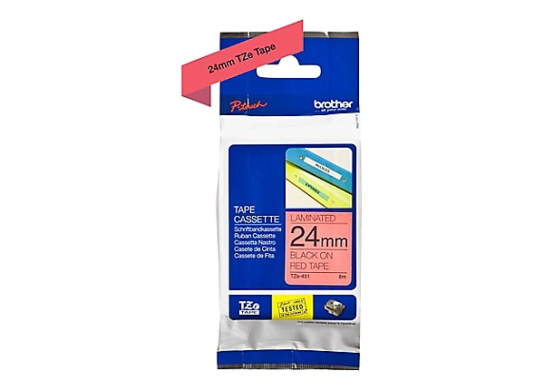Brother TZe-451 - laminated tape - 1 roll(s) -