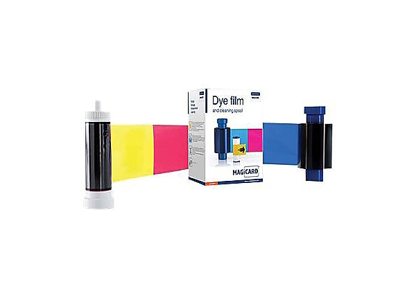 Ultra Electronics Magicard - 1 - yellow, cyan, magenta, black with overlay