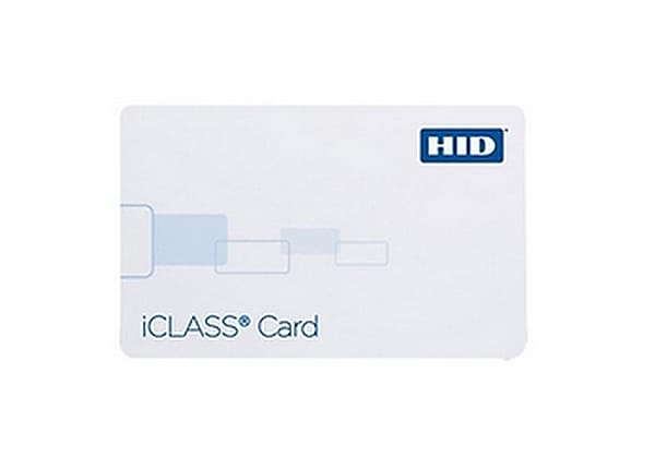 HID iCLASS Composite Card 2k/2 Bits