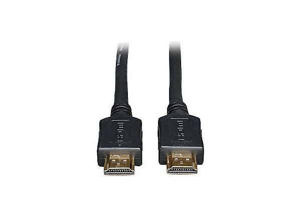 Tripp Lite 3' High Speed HDMI Cable Digital Audio Video Gold M/M 3ft