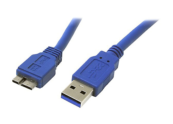 StarTech.com 3 ft. (0.9 m) USB 3.0 to Micro B Cable - SuperSpeed USB 3.0 5G