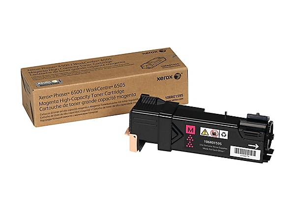 Xerox Phaser 6500 - High Capacity - magenta - original - toner cartridge