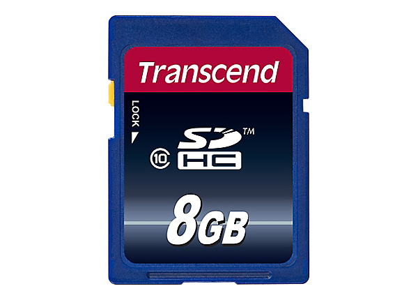 Transcend Ultimate - flash memory card - 8 GB - SDHC