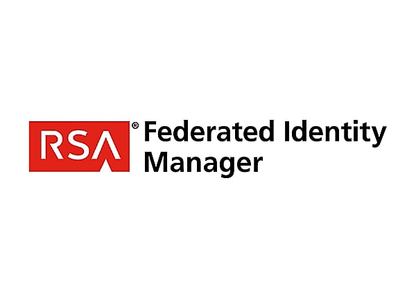 RSA Federated Identity Manager - license - 1 connection