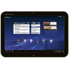 Motorola XOOM with Wi-Fi - tablet - Android 3.1 (Honeycomb) - 32 GB - 10.1""