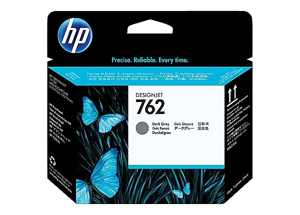 HP 762 - dark gray - printhead