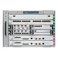 Cisco 7606-S - router - rack-mountable - with 2 x Cisco 7600 Series Route S