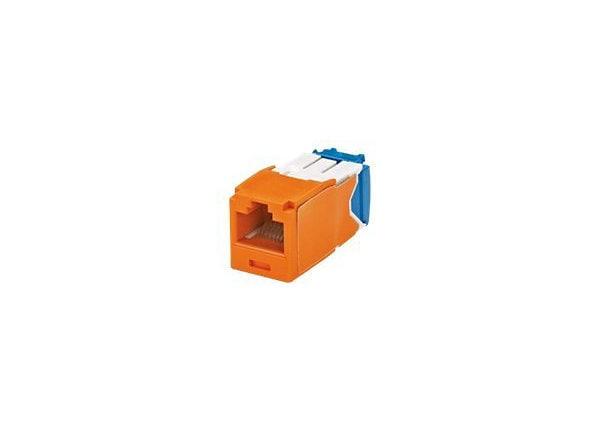 Panduit MINI-COM TX-6 10Gig - modular insert