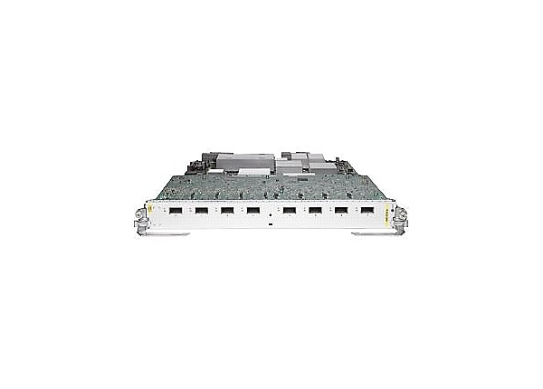 Cisco 8-Port 10GE Low Queue Oversubscribed Line Card - expansion module - 8