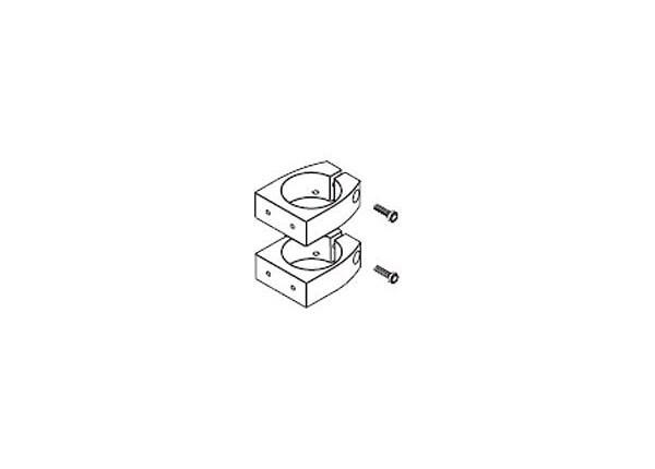 Ergotron system mounting brackets