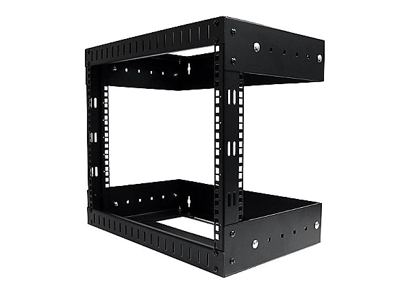 "StarTech.com 8U 19"" Wall Mount Network Rack Open Adjustable 12-20"" AV/Data"