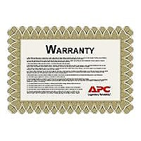 APC On-Site Service Upgrade to Factory Warranty - extended service agreemen