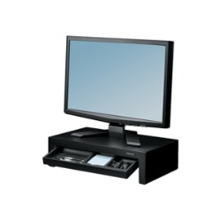 Fellowes Designer Suites Monitor Riser - monitor height-adjustable stand