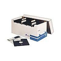 Fellowes media storage box