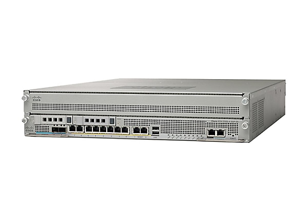Cisco ASA 5585-X Security Plus IPS Edition SSP-10 and IPS SSP-10 bundle - s