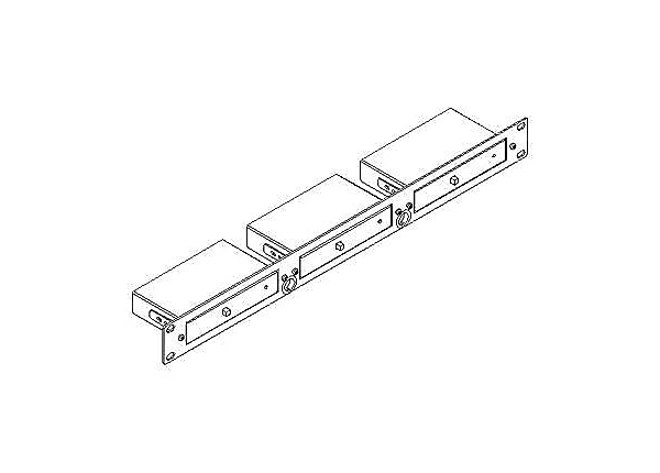 Kramer RK-3T - rack mounting kit - 1U - 19""
