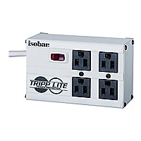 Tripp Lite Isobar Surge Protector Metal 4 Outlet 6ft Cord 3330 Joules