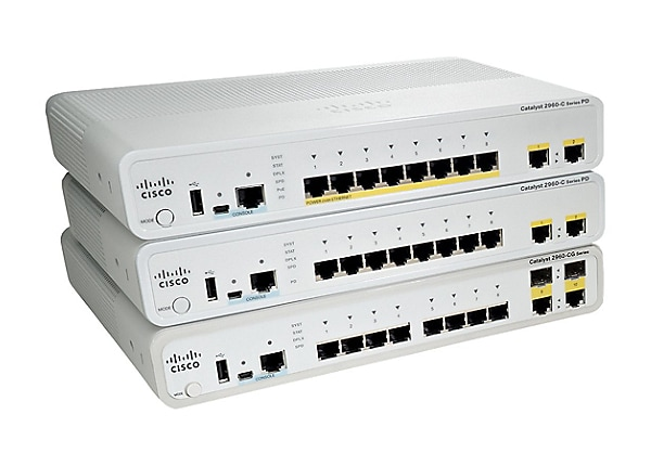 Cisco Catalyst Compact 2960CPD-8TT-L - switch - 8 ports - managed