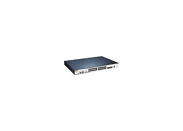 D-Link xStack DGS-3120-24PC - switch - 24 ports - managed