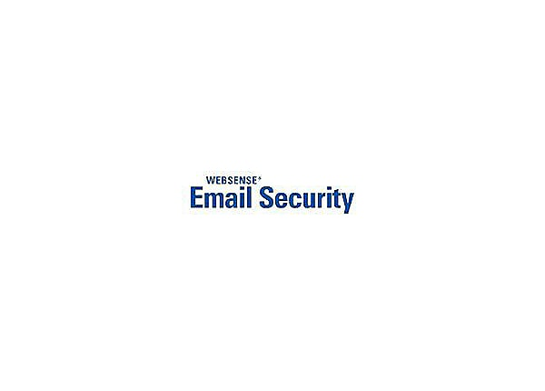Websense Email Security Gateway - subscription license renewal (1 year) - 5