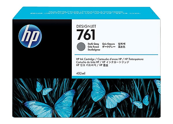 HP 761 - dark gray - original - DesignJet - ink cartridge